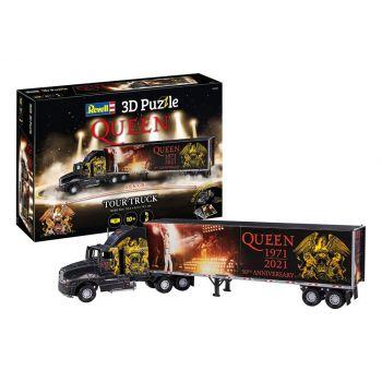 Queen puzzle 3D Truck & Trailer