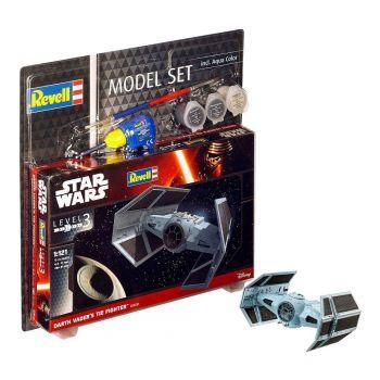 Star Wars maquette 1/121 Model Set Darth Vader's TIE Fighter 7 cm