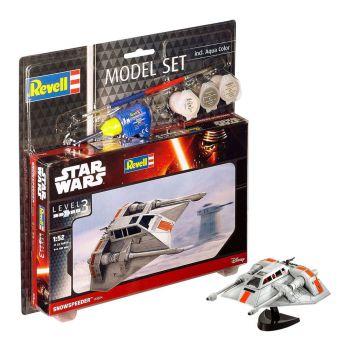 Star Wars maquette 1/52 Model Set Snowspeeder 10 cm
