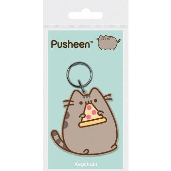 Pusheen porte-clés caoutchouc Pizza 6 cm