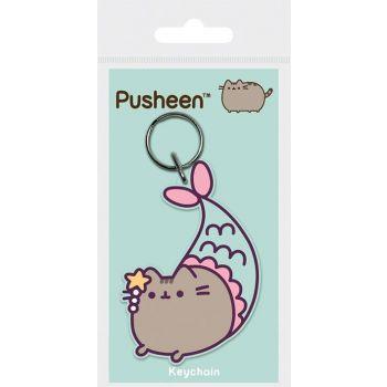 Pusheen porte-clés caoutchouc Purrmaid 6 cm