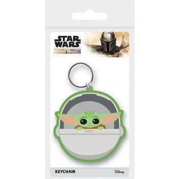 Star Wars The Mandalorian assortment porte-clés caoutchouc The Child 6 cm (10)