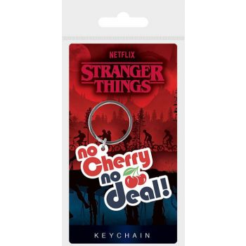 Stranger Things assortment porte-clés caoutchouc No Cherry No Deal 6 cm (10)