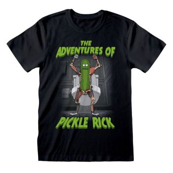 Rick & Morty T-Shirt Adventures of Pickle Rick