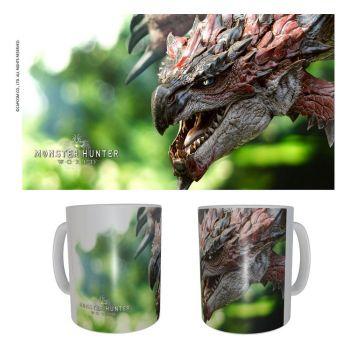 Monster Hunter mug céramique Rathalos