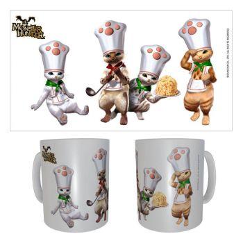 Monster Hunter mug céramique Palico