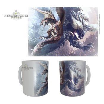 Monster Hunter mug céramique Rathalos & Nergikante