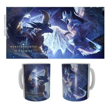 Monster Hunter mug céramique Nergikante & Velkhana