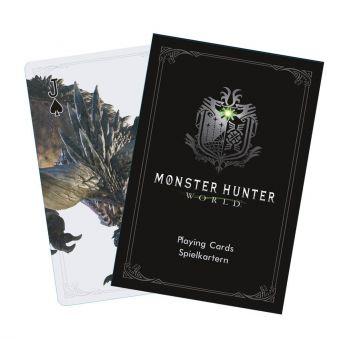 Monster Hunter World jeu de cartes à jouer Monsters