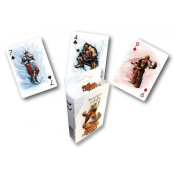 Street Fighter jeu de cartes à jouer Characters