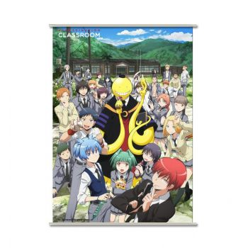 Assassination Classroom wallscroll Koro & Students 90 x 60 cm