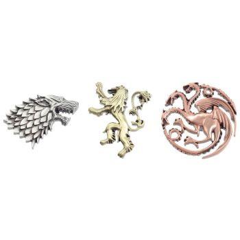 Le Trône de fer badges House Crests