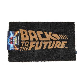 Retour vers le Futur paillasson Logo 43 x 72 cm