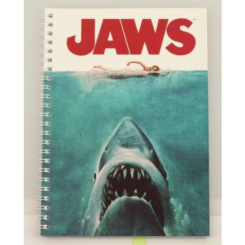 Les Dents de la mer cahier Movie Poster