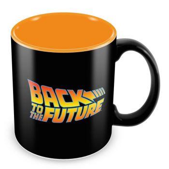 Retour vers le Futur mug Logo