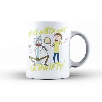 Rick & Morty mug Get Schwifty