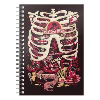 Rick & Morty cahier Anatomy Park