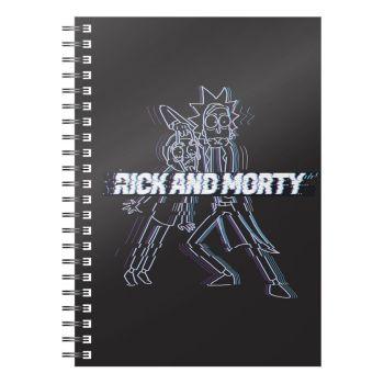 Rick & Morty cahier Glitch