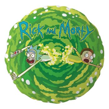Rick & Morty oreiller Logo 45 x 45 cm