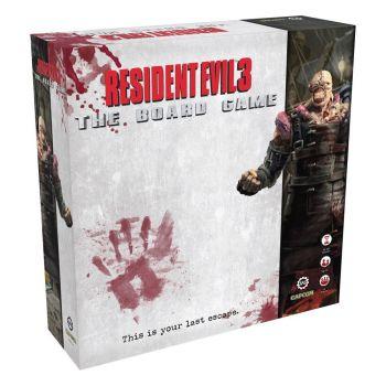 Resident Evil 3 jeu de plateau *ANGLAIS*