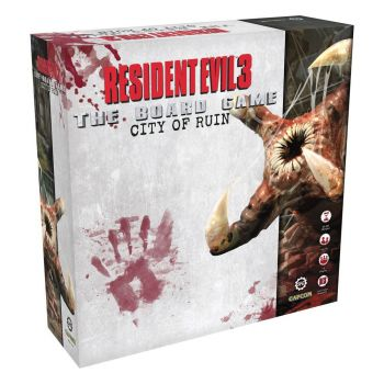 Resident Evil 3 extension jeu de plateau The Board Game The City of Ruin *ANGLAIS*
