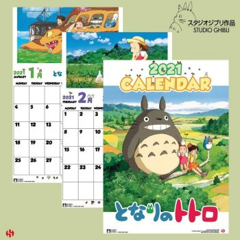 Mon Voisin Totoro calendrier 2021 *ANGLAIS*