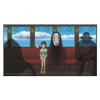 Studio Ghibli tableau en bois Le Voyage de Chihiro 37,5 x 20,5 cm
