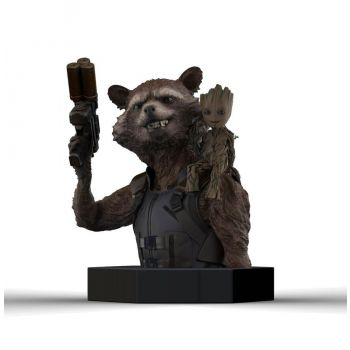 Les Gardiens de la Galaxie Vol. 2 buste 1/6 Rocket Raccoon & Groot 16 cm
