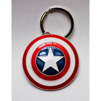 Marvel Comics porte-clés métal Captain America Shield