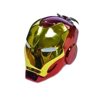 Marvel Comics porte-clés métal Iron Man Helmet
