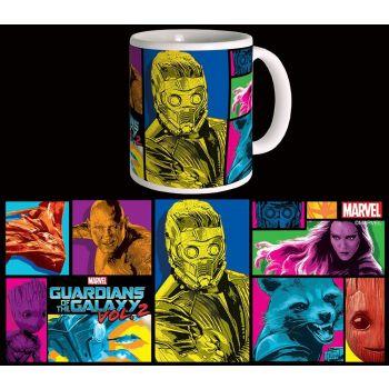 Les Gardiens de la Galaxie 2 mug Colors