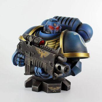 Warhammer 40K buste Ultra Marine Primaris 16 cm