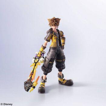 Kingdom Hearts III Bring Arts figurine Sora Guardian Form Version 16 cm