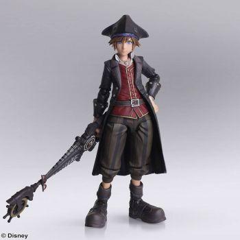 Kingdom Hearts III Bring Arts figurine Sora Pirates of the Caribbean Ver. 15 cm