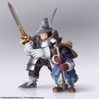 Final Fantasy IX figurines Bring Arts Vivi Ornitier & Adelbert Steiner 10 - 15 cm