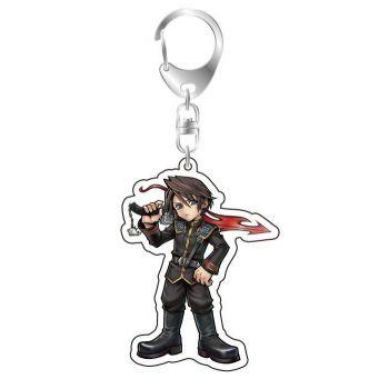Dissidia Final Fantasy porte-clés acrylique Squall