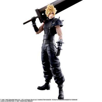 Final Fantasy VII Remake Play Arts Kai figurine Cloud Strife Ver. 2 27 cm