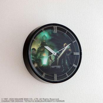 Final Fantasy VII Remake horloge murale avec fonction alarme Cloud Model