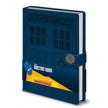 Doctor Who carnet de notes Premium A5 Tardis