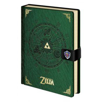 Legend of Zelda carnet de notes Premium A5 Triforce New Version