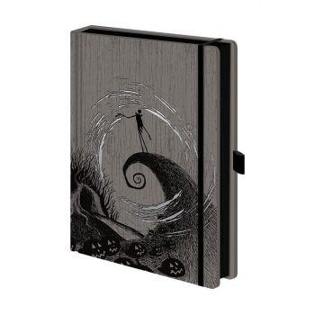 L'Étrange Noël de monsieur Jack carnet de notes Premium A5 Moonlight Madness