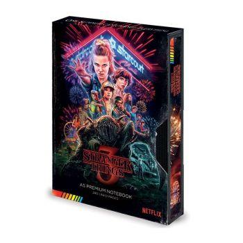 Stranger Things carnet de notes Premium A5 VHS (S3)