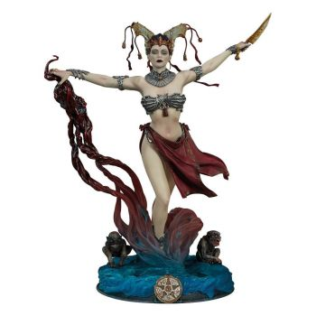 Court of the Dead statuette PVC Gethsemoni - Queens Conjuring 25 cm