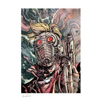 Marvel impression Art Print Star-Lord 46 x 61 cm non encadrée