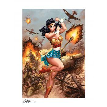 DC Comics impression Fine Art Print Premium Wonder Woman #750: WWII 46 x 61 cm