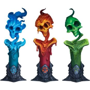 Court of the Dead pack 3 statuettes The Lighter Side of Darkness: Faction Candle 18 cm