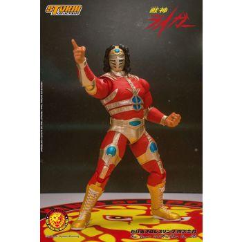New Japan Pro Wrestling figurine 1/12 Jyushin Liger 17 cm