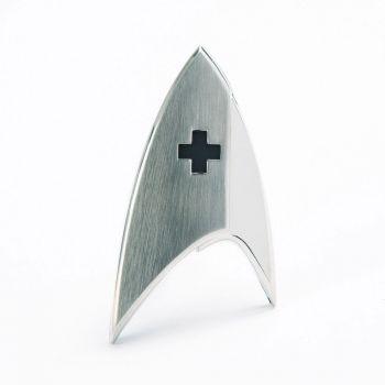 Star Trek Discovery réplique 1/1 Starfleet badge Medical Division magnétique
