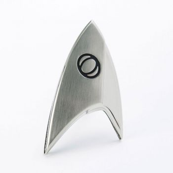 Star Trek Discovery réplique 1/1 Starfleet badge Science Division magnétique