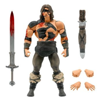 Conan le Barbare figurine Ultimates Conan War Paint Conan 18 cm